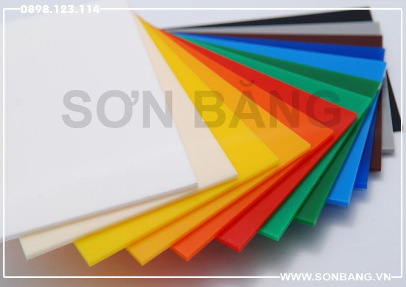Bảng báo giá tấm nhựa mica [NEW 2020]