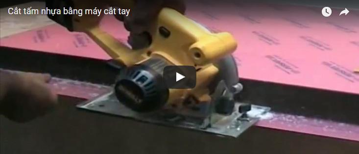 [Video] Hướng dẫn cách cắt tấm nhựa mica bằng máy cắt tay