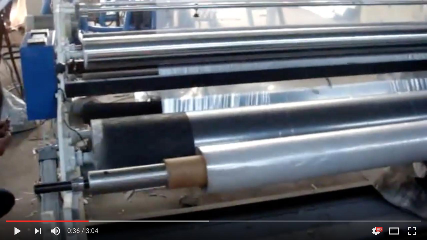 [Video] Sản xuất màng nhà kính PE tại nhà máy