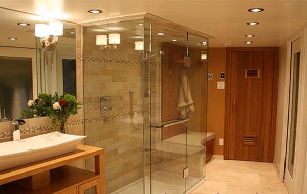 Tấm nhựa cường lực polycarbonate làm vách cabin phòng tắm