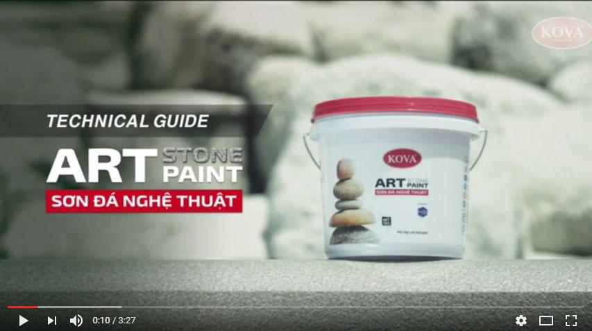 [Video] Hướng dẫn cách sử dụng sơn Kova tham khảo
