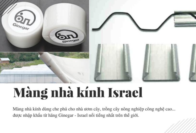 Màng nhà kính Việt Nam và nhập Israel nên chọn loại nào?