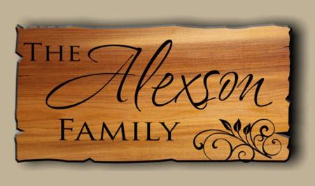 Làm bảng hiệu bằng gỗ