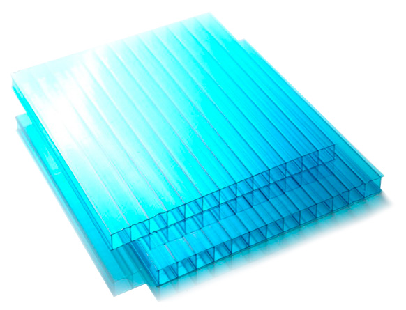 Tấm lợp lấy sáng poly rỗng cao cấp Twinlite 5mm