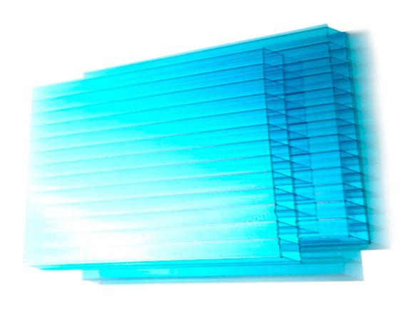 Tấm lợp lấy sáng poly rỗng cao cấp Twinlite 10mm