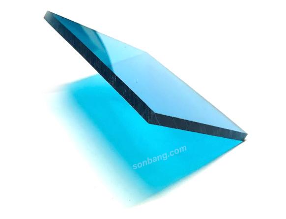 Tấm lợp polycarbonate đặc ruột 6mm nhựa lấy sáng