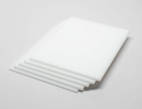 Tấm mica 10mm trắng sữa nhựa acrylic Đài Loan