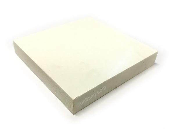 Tấm nhựa pvc 15mm Pima giả gỗ màu trắng