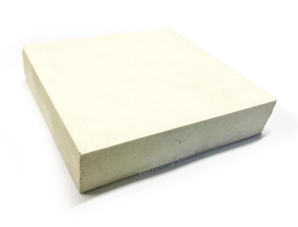 Tấm nhựa pvc 20mm Pima giả gỗ màu trắng