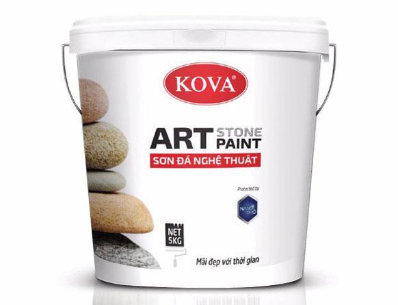Sơn giả đá nghê thuật KOVA Art Stone Paint