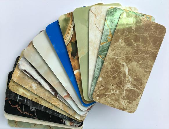 Tấm nhựa PVC foam giả đá cẩm thạch SBP