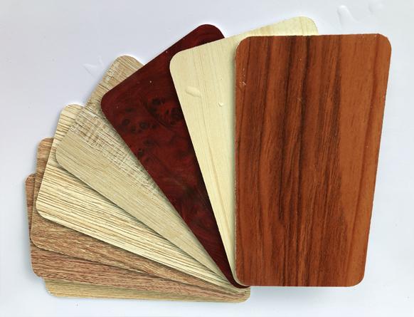 Tấm ván nhựa PVC foam SBP màu vân gỗ
