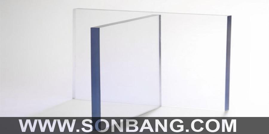 tấm nhựa acrylic trong kính 3mm