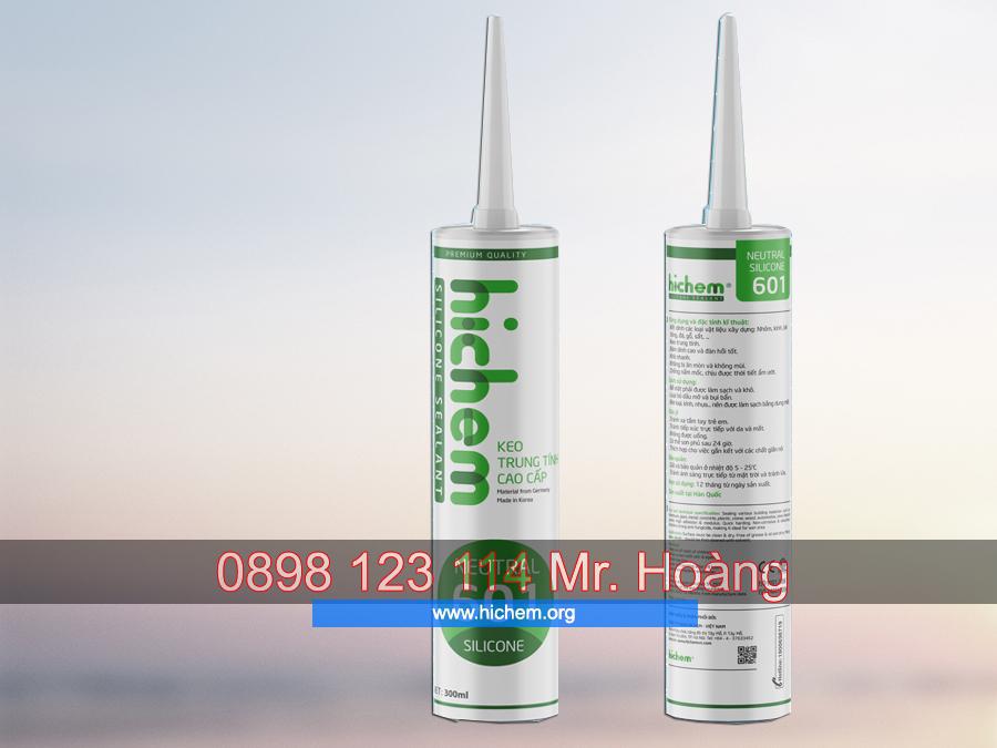 keo silicone trung tính hichem 601
