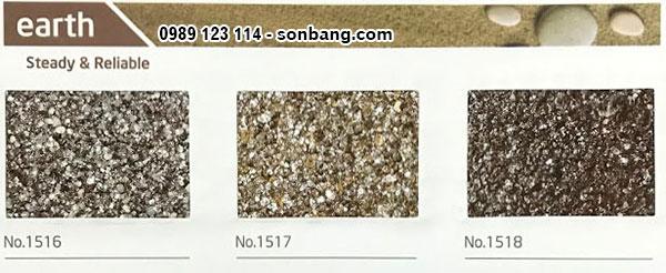 Mã màu sơn đá nghệ thuật đặc biệt Kova earth