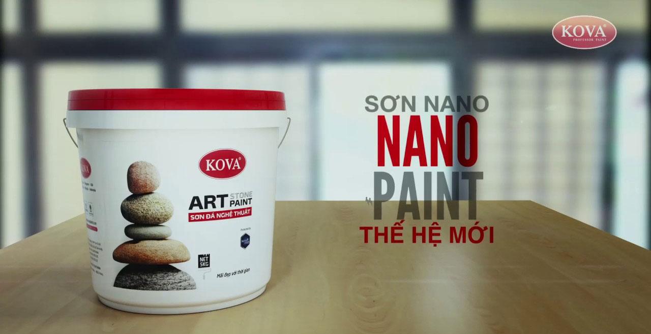 sơn đá nghệ thuật kova