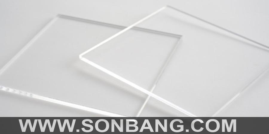 tấm nhựa acrylic trắng trong 3mm
